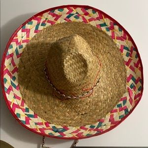 Other - Mexican Colored Edge Sombrero